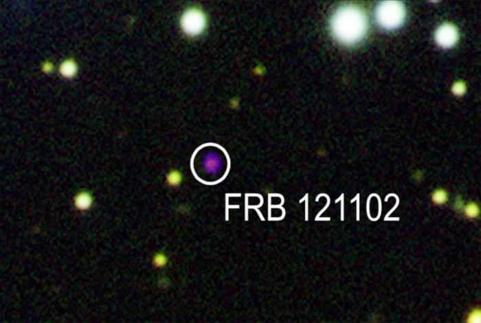 FRB discovered