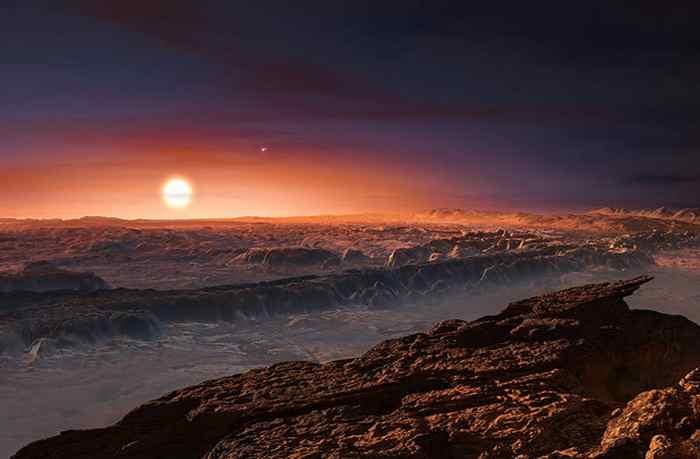 Proxima Centauri b: Reserve of Vast Oceans