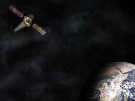 Chandra X-ray Observatory in Earth orbit