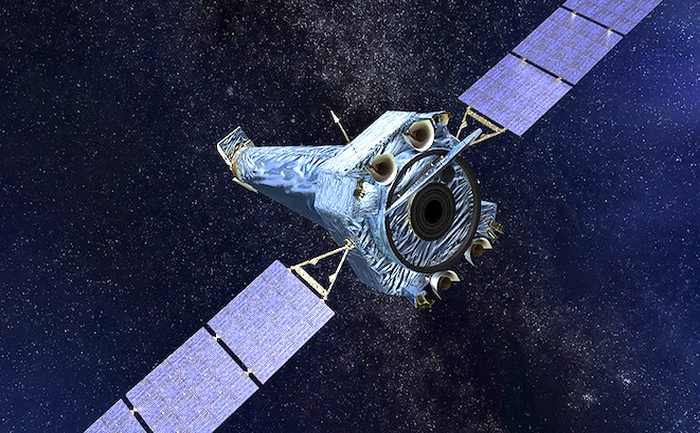Artist's concept of Chandra X-ray Observatory