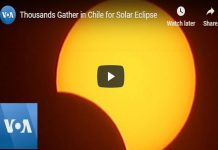 Chile Solar Eclipse