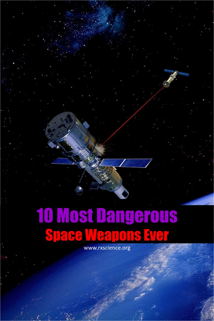 The following article reveals 10 strangest space weapons that you might have little knowledge about.
