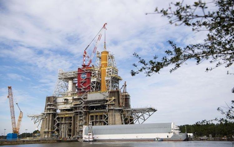 NASA's new SLS Megarocket Postponed due to Covid-19