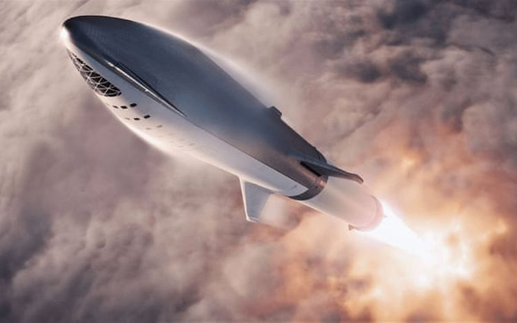 SpaceX Big Falcon Rocket Mission to Mars